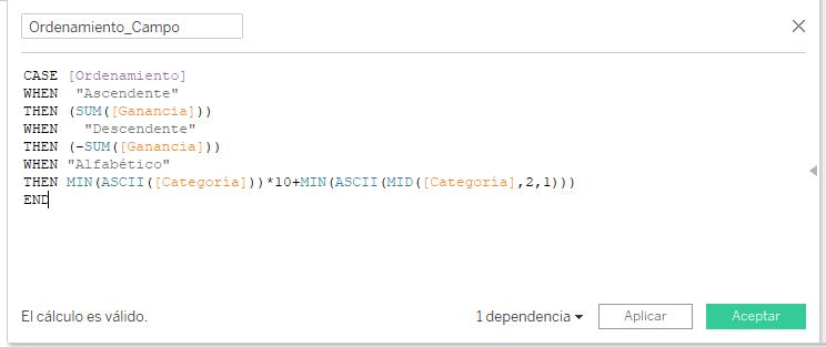 Cálculo Ordenamiento_Campo
